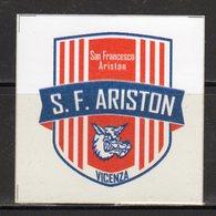 Vicenza - San Francesco - ARISTON - - Adesivi