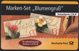 Bund Markenheftchen MH 55 Blumengruß 2004 Ersttagsstempel FRANKFURT - BRD