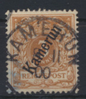 Deutsche Kolonien Kamerun 1 B Gestempelt K1 KAMERUN 8.11.1900 Kat.-Wert 20,00 - Kolonie: Kamerun