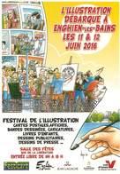 Illustrateurs - Illustrateur Bernard Veyri - Enghien Les Bains - La Bande Dessinée - La BD - Autographe - Signature - Veyri, Bernard
