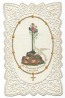 IMAGE PIEUSE  DENTELLE Imp Bouasse - Images Religieuses