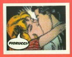 STICKERS FIORUCCI-DECALCOMANIE-FIGURINE FIORUCCI-MODA-AMORE-PUBBLICITARIE-SERIE  BACI - Stickers