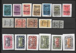KÄRNTEN / CARINTHIE - 1920 - PLEBISCITE - YVERT N° 1/19 OBLITERES - Autres - Europe