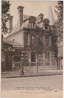 CARTE POSTALE  SOISSONS 02  Hôtel De La Tourelle 40 Rue De La Gare - Soissons