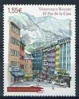 Andorra (French Adm.), Véronique Bandry, Painter, El Pas De La Casa, 2013, MNH VF - French Andorra