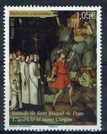 Andorra (French Adm.), Altarpiece, Sant Miquel De Prats, 2013, MNH VF - Andorre Français