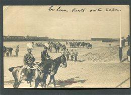 Carte Photo Allemande - Im Manöver, 1904  (dos Non Divisé) - Manoeuvres