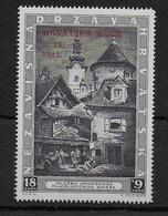 HRVATSKA - 1943 - YVERT N° 104A ** MNH - COTE = 14.5 EUR. - Croatie