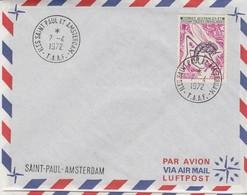 TAAF. 1972.  N° 40. ST PAUL  /   3 - Französische Süd- Und Antarktisgebiete (TAAF)