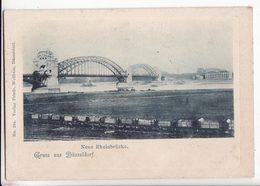 Allemagne   Grüss Aus DÜSSELDORF   Neue Rheinbrücke - Duesseldorf