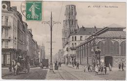 CARTE POSTALE  LILLE 59  Rue Solférino - Lille