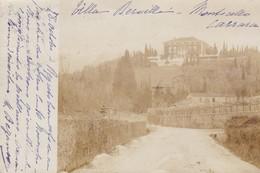RARE CARTE PHOTO 1902 / MASSA CARRARA / MONTICELLO / VILLA MERVILLE - Massa