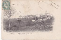 Cazaubon Lot De 3 Cartes - Autres Communes