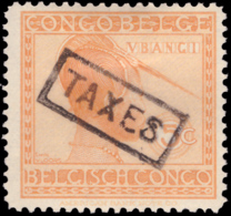 Congo TX 0106* Vloors  H Surcharge Taxe - Taxe: Neufs
