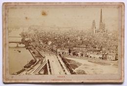 J.LURIN, Vue Générale De Rouen, Circa 1865. - Photos