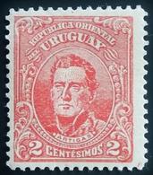 1910 Uruguay  Mi:UY 185, Sn:UY 189, Yt:UY 188, Sg:UY 299 . José Gervasio Artigas (1764-1850) Neuf ** - Uruguay