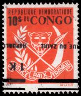 Congo 0906** Surcharge Renversée MNH - République Démocratique Du Congo (1964-71)