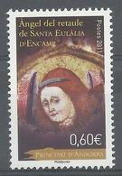 Andorra (French Adm.), Altarpiece, Angel, Sainte-Eulalie D'Encamp, 2011, MNH VF - French Andorra