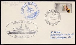 "ANTARCTIC,Germany, FS ""POLARSTERN"" , ANT-VIII, 2 Cachets + Bordpoststpl. 05.08.1989, Low Price !! 24.6-51 - Timbres"