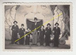 ORIGINAL OLD PHOTOGRAPH CHARLY CHARLIE CHAPLIN / 7 X LOOK ALIKE / 7 X IMITATOR / 7 X IMITATEUR - Acteurs