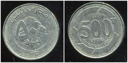 LIBAN 500 Livres 1995 - Lebanon