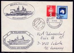 "ANTARCTIC,Germany, FS ""POLARSTERN"" , ANT, 2 Cachets + Bordpoststpl. 9.10.1988, Low Price !! 14.7-34 - Timbres"