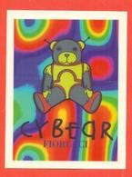 STICKERS FIORUCCI-DECALCOMANIE-FIGURINE FIORUCCI-MODA-AMORE-PUBBLICITARIE-SERIE FUTURE-ORSETTI-BEAR- - Stickers