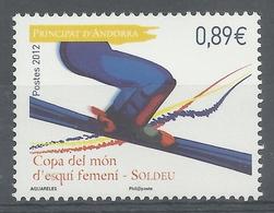Andorra (French Adm.), FIS Alpine Ski World Cup, Soldeu, 2012, MNH VF - French Andorra
