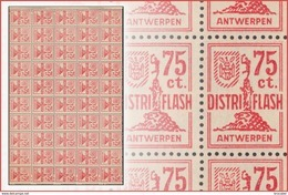 Belgium LO20** Feuille / Sheet De 50 ** -MNH- Distri Flash - Feuilles Complètes
