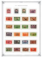 Ex Colonies Française * Lattaquié Poste 1 à 19, **/*  48€ - Unused Stamps