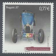 Andorra (French Adm.), Car, Bugatti 37, 2012, MNH VF - French Andorra