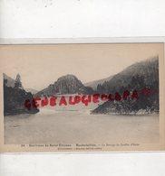 42 - ROCHETAILLEE -ENVIRONS DE SAINT ETIENNE- LE BARRAGE DU GOUFFRE D' ENFER 1936 - Rochetaillee