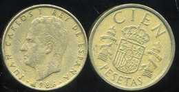 SPAIN ESPAGNE 100 Pesetas 1986 - [ 5] 1949-… : Kingdom