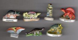 LOT 7 Fèves Brillantes  DINOSAURES & ANIMAUX PREHITORIQUES  De Différentes Séries - Animals