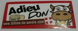 THEME FROMAGE : AUTOCOLLANT TOMME DE SAVOIE - NEUF - Stickers