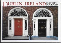 IRLANDA - DUBLIN - GEORGIAN DOORWAYS - VIAGGIATA 1993 FRANCOBOLLO ASPORTATO - Dublin