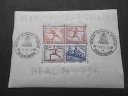 Allemagne Bloc N° 5(JO 1936)neuf** - Blocks & Sheetlets