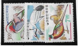 Corée Du Sud N°404/406 -  Oiseaux - Neufs ** Sans Charnière - TB - Corée Du Sud