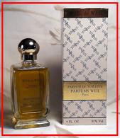 WEIL : WEIL De WEIL - Parfum De Toilette - 118 Ml. - Parfum (neuf Sous Emballage)