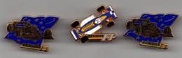 LOT DE 3 PIN'S F1 SIGNES HATHUS BERTRAND - F1