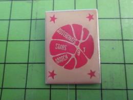 413e Pin's Pins : Rare Et Belle Qualité : THEME SPORTS / BASKET-BALL BALLON AUVERGNATS STARS MATCH 92 - Basketball