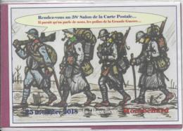 25.- MONTBELIARD .- Rendez-vous Au 38e Salon De La Carte Postale - Bolsas Y Salón Para Coleccionistas