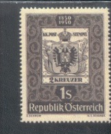 Österreich 950 Tag Der Briefmarke  MNH Postfrisch ** - 1945-60 Ungebraucht