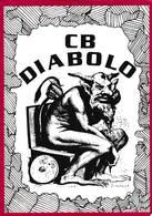 CB Radio  CB DIABOLO  AMALIENWEG Allemagne     ( F6 - Carte QSL