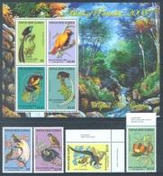 PAPUA NEW GUINEA -  MNH/*** LUXE - 2008 - BIRDS OF PARADISE - Yv 1239-1242 BLOC 51 -  Lot 18260 - Papouasie-Nouvelle-Guinée
