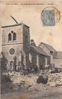 ¤¤  -   DIZY-le-GROS   -  L' Eglise   -  Après Le Recul Des Allemands     -   ¤¤ - Autres Communes