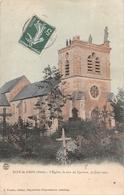 ¤¤  -   DIZY-le-GROS   -   L'Eglise , Le Soir Du Cyclone Du 30 Juin 1905    -   ¤¤ - Autres Communes
