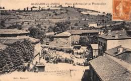 42 - LOIRE / 422122 - Saint Julien En Jarez - Place D' Armes - Autres Communes