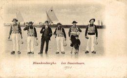 1901   BLANKENBERGHE LES SAUVETEURS - Blankenberge