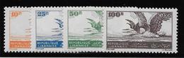 Liban Poste Aérienne N°7/10 -  Oiseaux - Neufs * Avec Charnière - TB - Liban